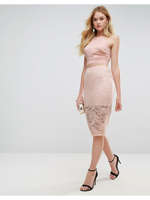 ASOS Lace Pencil Skirt