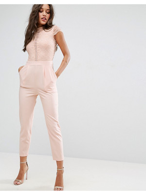 ASOS Lace Top Jumpsuit