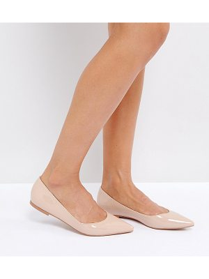 Asos LATCH Pointed Ballet Flats