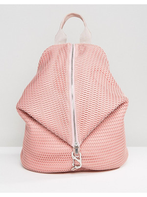 Asos LIFESTYLE Mesh Dogclip Backpack