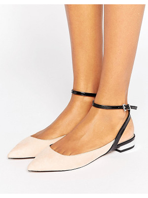 Asos LOLLIES Pointed Ballet Flats