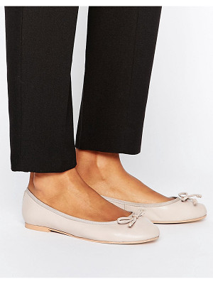 Asos LUNA Leather Ballet Flats