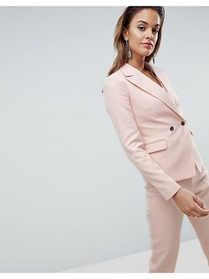Asos Tailored Occasion Blazer with Metal Buttons