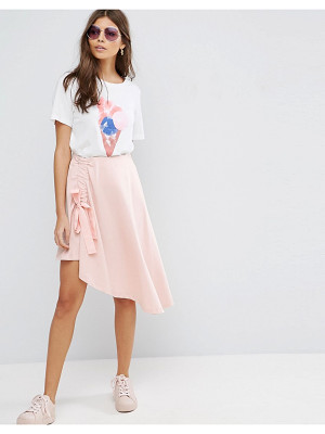 ASOS Mini Skirt With Asymmetic Hem