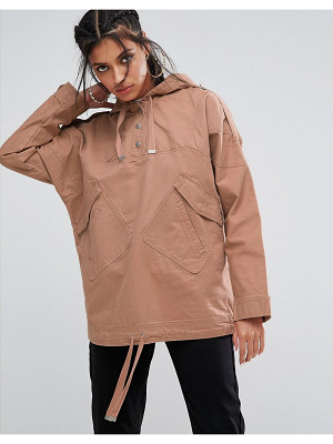 ASOS Over The Head Festival Jacket