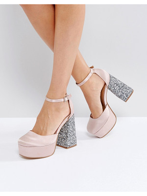 ASOS Paint The Town Platform Heels