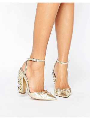 ASOS Pall Mall Bridal Embellished Heels