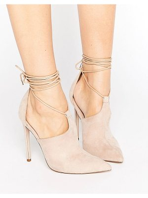 Asos PANDEMONIUM Lace Up Pointed Heels