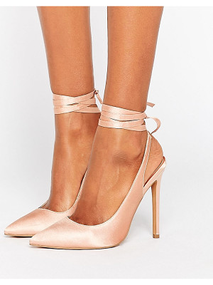 Asos PIPE DOWN Pointed High Heels