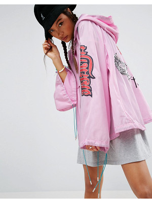 ASOS Premium Embroidered Anorak