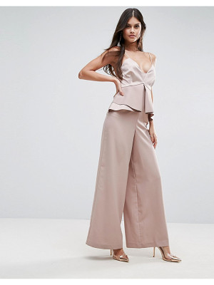 ASOS Premium Occasion Jumpsuit With Pephem