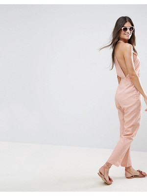 ASOS Racer Back Casual Jumpsuit
