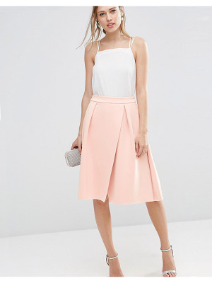 Asos Scuba Prom Skirt with Wrap