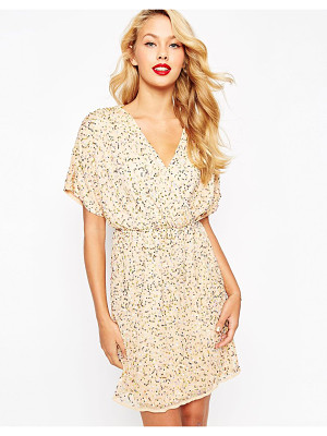 ASOS Sequin Kimono Mini Dress
