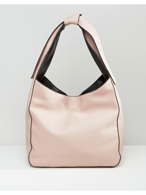 Asos Slouch Shoulder Bag With Tie Detail