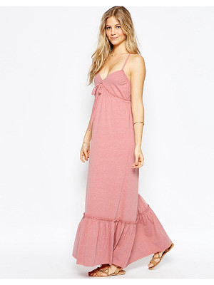Asos Strappy Tiered Maxi Dress