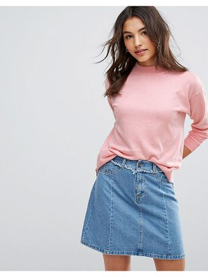 Asos Sweater In Silk Blend