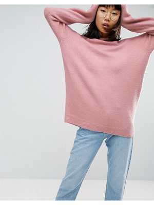 ASOS Sweater In Oversized With Crew Neck