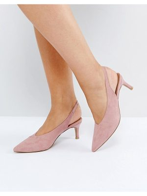 Asos SWIFT Slingback Kitten Heels