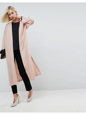 ASOS Tailored Edge To Edge Duster Jacket