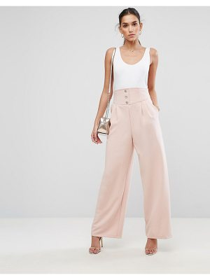 ASOS Tailored Super High Waist Uber Wide Leg Pant