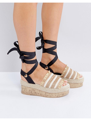 Asos TAKE A BREAK Flatform Sandals