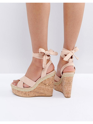 Asos Odell Wide Fit Wedges Nudevotion Com