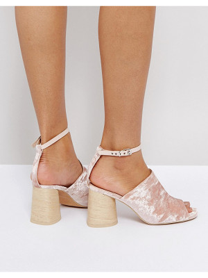 ASOS Taper Heeled Sandals