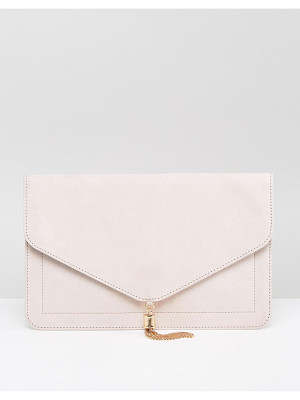 Asos tassel clutch bag