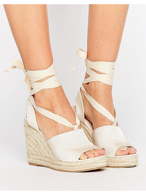 Asos TEAM PLAYER Tie Leg Wedges