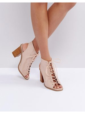 ASOS Trindy Lace Up Sandals