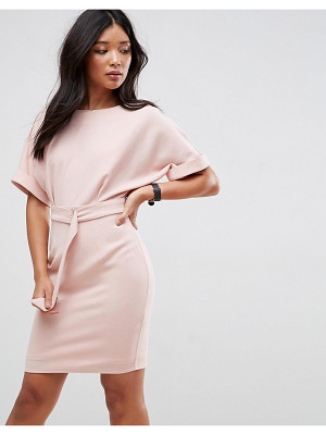 ASOS DESIGN asos ultimate mini pencil dress with d-ring belt