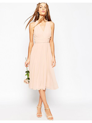 Asos Bridesmaid hollywood midi dress