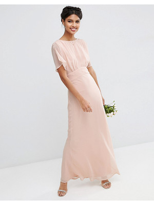 Asos WEDDING Soft Maxi Dress