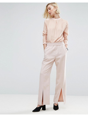 ASOS WHITE Asos White Split Front Pull On Pant