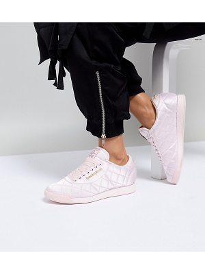 ASOS WHITE Asos White X Reebok Princess Sneakers In Quilted Satin