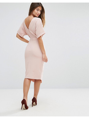 ASOS DESIGN asos ultimate pencil midi dress