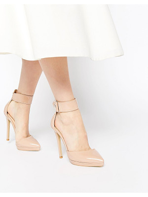 Ax Paris Darcy Ankle Strap Heeled Shoes