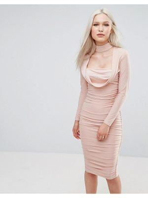 Ax Paris Long Sleeve Slinky Dress