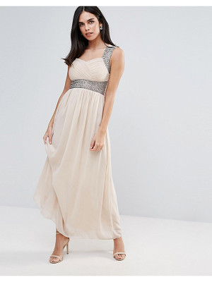 Ax Paris Maxi Dress With Embellishment