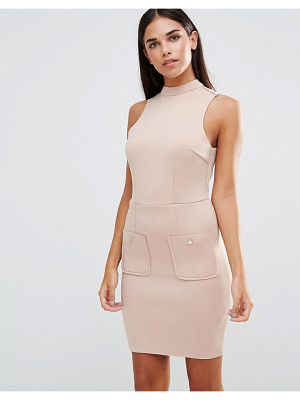 AX PARIS Mini Scuba Bodycon Dress