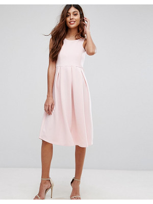 BE JEALOUS Skater Prom Midi Dress