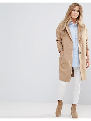BELLFIELD Corvara Wool Blend Tailored Coat
