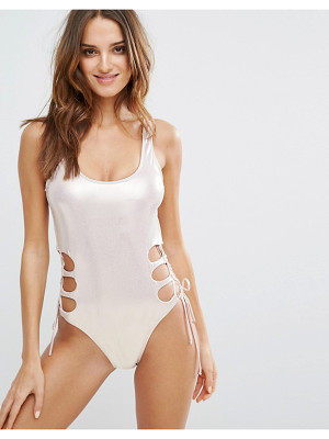 Bikini Lab Cut Out Swimsuit