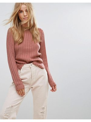 Brave Soul Basic Rib Sweater