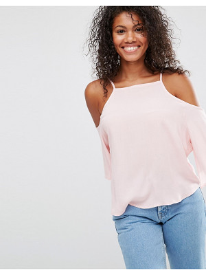 BRAVE SOUL Cold Shoulder Top
