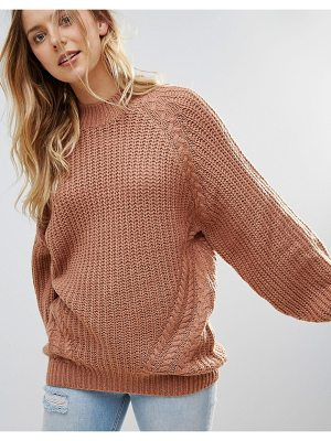 Brave Soul Fez Loose Fit Sweater