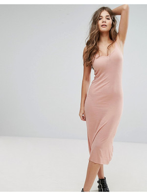 Brave Soul Plain Strappy Maxi Dress
