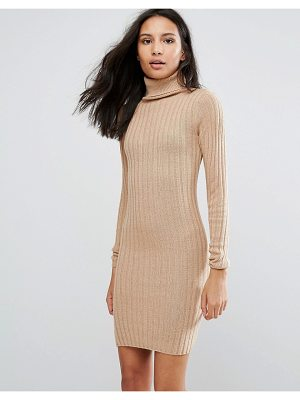 Brave Soul Rib Sweater Dress