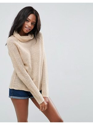 BRAVE SOUL Roll Neck Sweater
